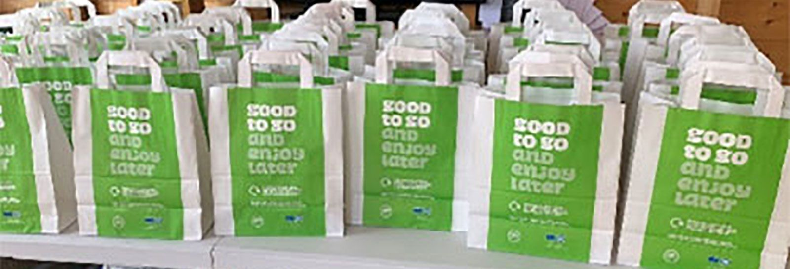 Food bags organised by Menstrie Community Council banner image