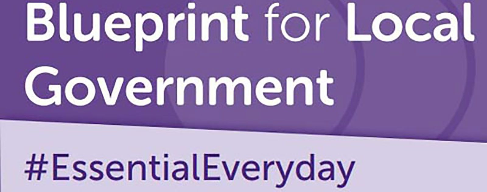 COSLA Blueprint for Local Government banner image