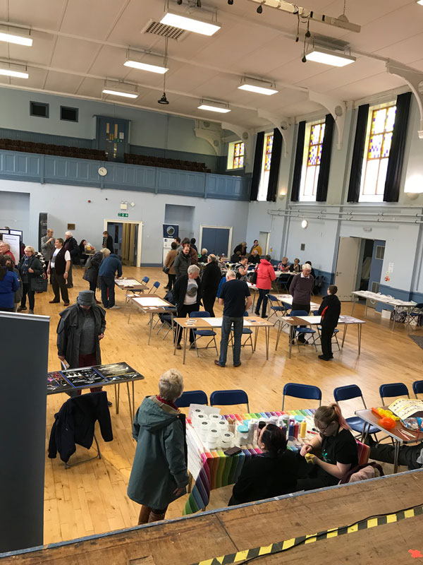 Voting group at Darvel and District Community Council