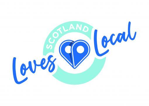Scotland loves local logo