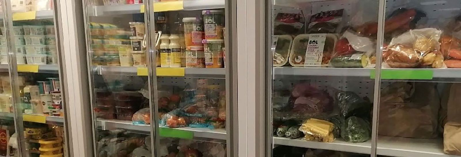 Food fridges at the Scottish Pantry Network banner image