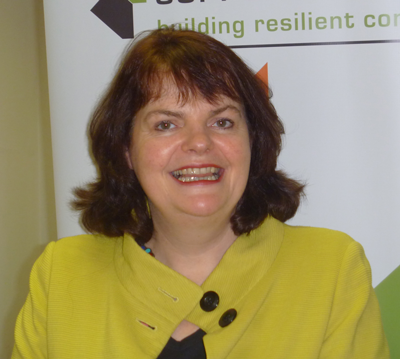 Linda Gillespie, Programme Manager with the Community Ownership Support Service