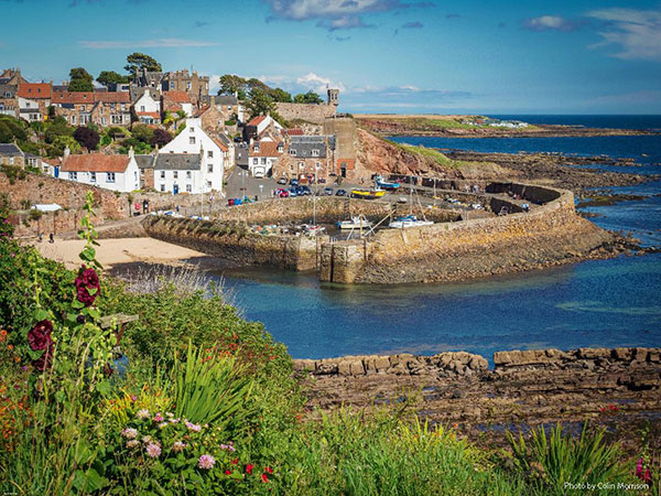 Crail Harbour. Credit: Colin Morrison