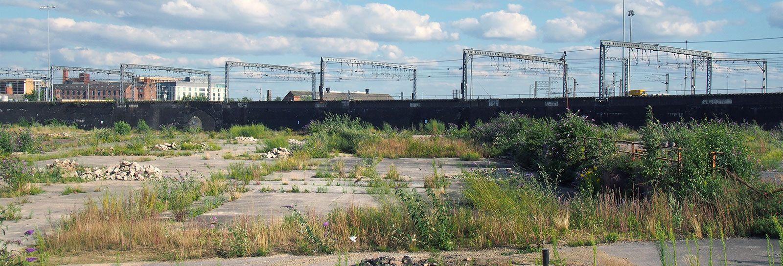 derelict land banner image