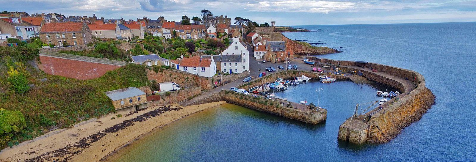 A coastal village in Scotland banner image