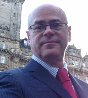 Bernard Harkins, member of Musselburgh and Inveresk Community Council