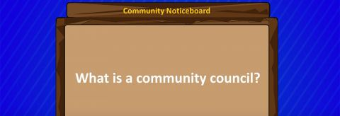 Resource: What is a Community Council? Animation