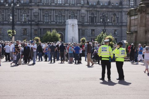 Consultation on policing of public events